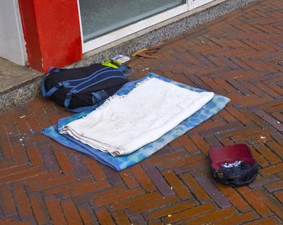 Obdachlos im Internet